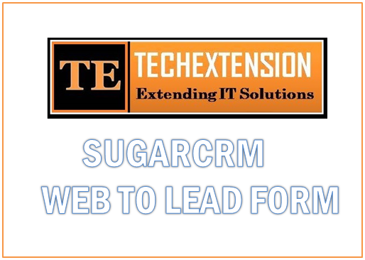 SugarCRM Web to Laed  SuitecrM integration