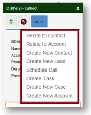 SugarCRM Click To call-features