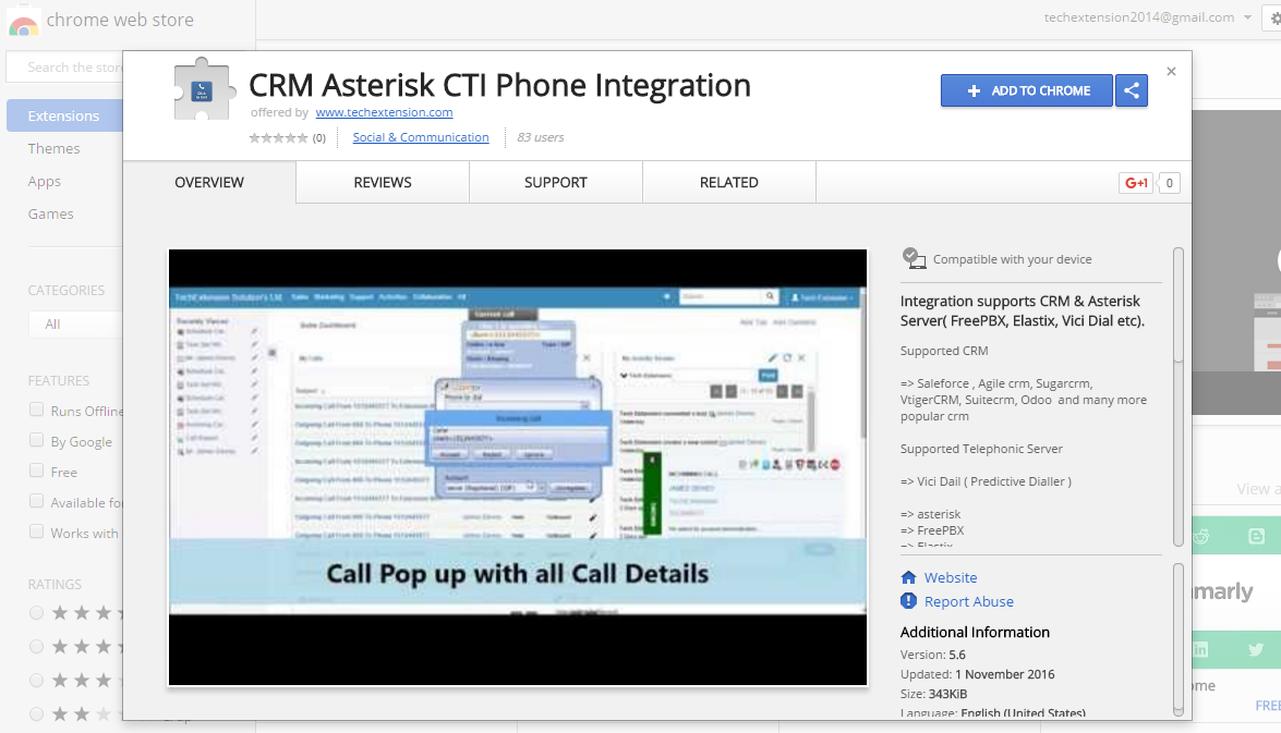 Support ( CRM : SugarCRM / SuiteCRM | Call Center ) Modules / Add