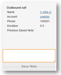 SugarCRM Save Notes to Call