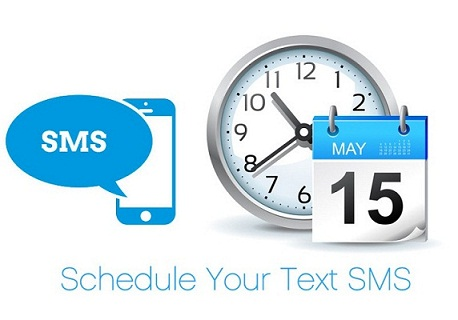 schedule a text-messages
