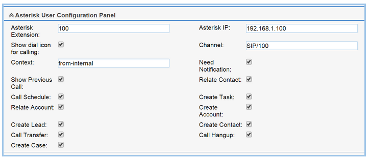 sugarcrm-asterisk-end-user-setting